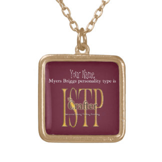 ISTP theCrafter Gold Plated Necklace