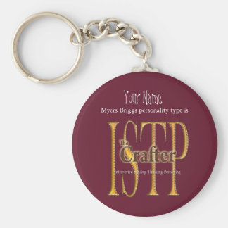 ISTP theCrafter Key Ring
