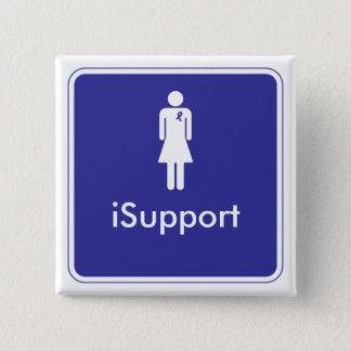 iSupport 15 Cm Square Badge