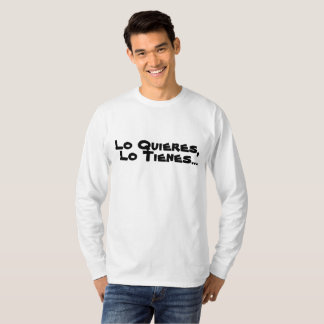 It acquires your Prenda with Motivational Motto T-Shirt