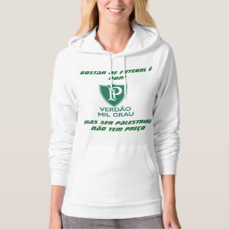 it agasalho feminine verdao thousand degree hoodie