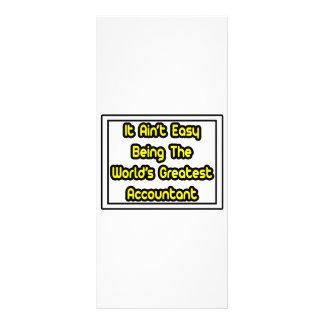 It Aint' Easy...World's Greatest Accountant Rack Card