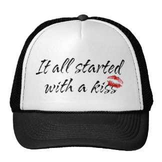 It All Started With A Kiss Maternity Cap
