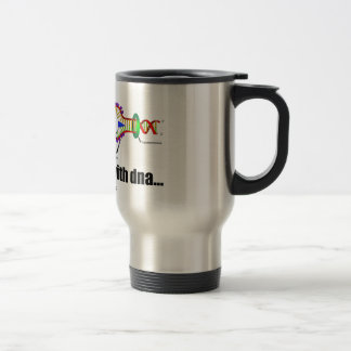 it all started with DNA.. (DNA Replication) Travel Mug