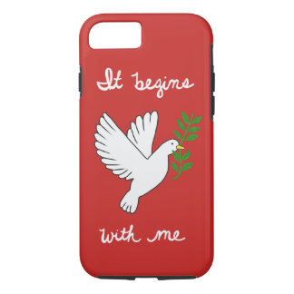 It Begins With Me Phone Case