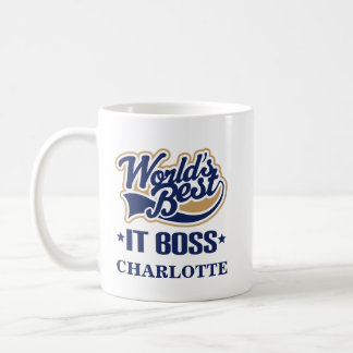 IT Boss Personalized Mug Gift