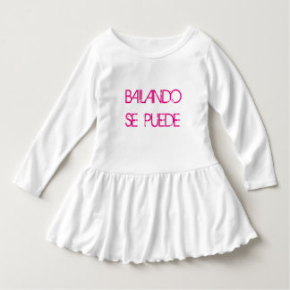 It can be achieved through dancing girl shirtdress dress