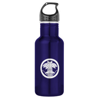 It changes to the circle, ardently in the bamboo 532 ml water bottle
