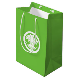 It changes to the circle, ardently in the bamboo medium gift bag
