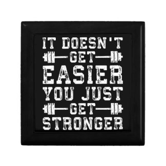 It Doesn't Get Easier, You Just Get Stronger - Gym Gift Box