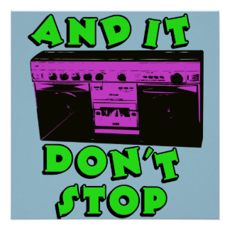 It Don't Stop Poster