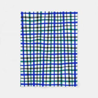 It draws into squares fleece blanket
