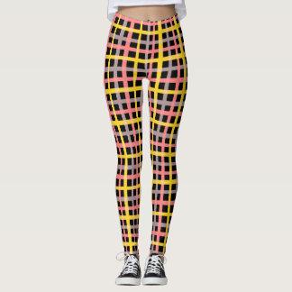It draws into squares leggings