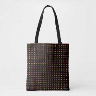 It draws into squares tote bag
