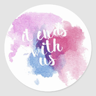 It Ends with Us Sticker