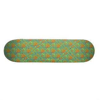 It feels like being in the woods. 21.3 cm mini skateboard deck