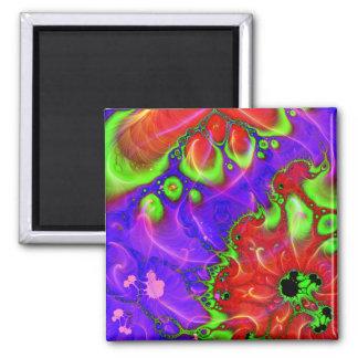 It Flows Through  Magnet (Square)