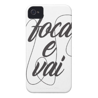 it focuses and it goes iPhone 4 Case-Mate case