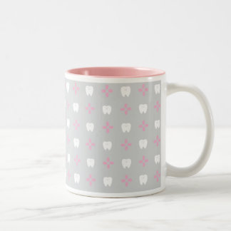 < It goes, it is the gu hall >Tooth goods magnetic Two-Tone Coffee Mug
