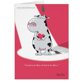 IT HAD TO BE MOO Valentines by Boynton Card