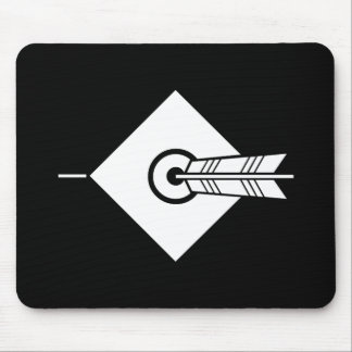 It hits against the mark, the arrow mouse pad