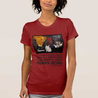 It is a human beings sympathy... t-shirts