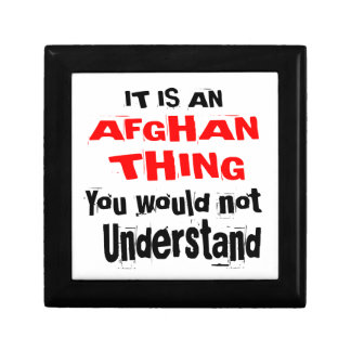 It Is AFGHAN Thing Designs Gift Box