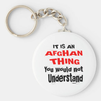 It Is AFGHAN Thing Designs Key Ring