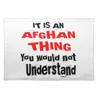 It Is AFGHAN Thing Designs Placemat