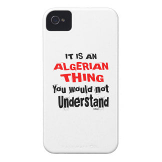 It Is ALGERIAN Thing Designs iPhone 4 Case-Mate Case