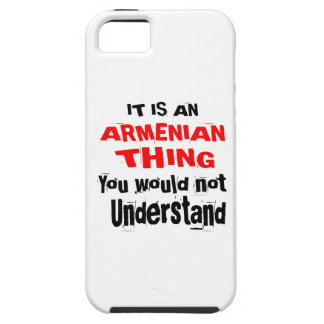 IT IS ARMENIAN THING DESIGNS iPhone 5 CASE