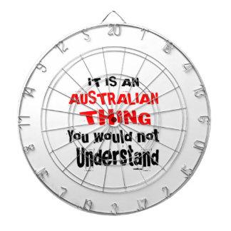 IT IS AUSTRALIAN THING DESIGNS DARTBOARD