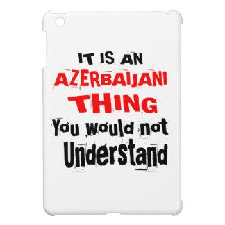 IT IS AZERBAIJANI THING DESIGNS iPad MINI COVERS
