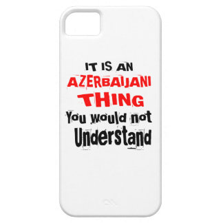IT IS AZERBAIJANI THING DESIGNS iPhone 5 COVER