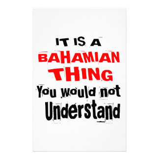 IT IS BAHAMIAN THING DESIGNS STATIONERY
