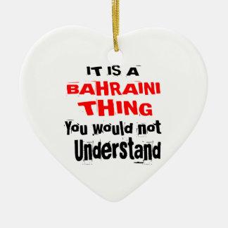 IT IS BAHRAINI THING DESIGNS CERAMIC ORNAMENT