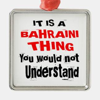 IT IS BAHRAINI THING DESIGNS METAL ORNAMENT