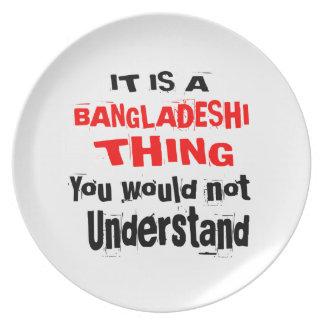 IT IS BANGLADESHI THING DESIGNS PLATE