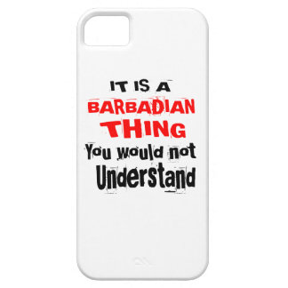 IT IS BARBADIAN THING DESIGNS BARELY THERE iPhone 5 CASE