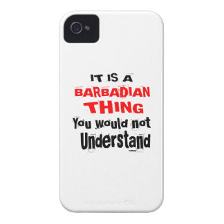 IT IS BARBADIAN THING DESIGNS Case-Mate iPhone 4 CASES