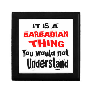 IT IS BARBADIAN THING DESIGNS GIFT BOX