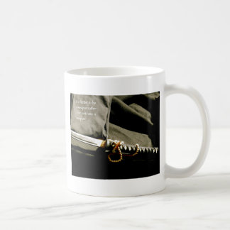 It is better to be a weapon rather than just have coffee mug