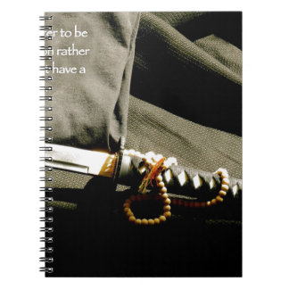 It is better to be a weapon rather than just have notebooks