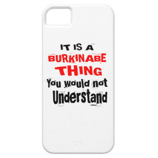IT IS BURKINABE THING DESIGNS iPhone 5 COVERS