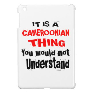 IT IS CAMEROONIAN THING DESIGNS iPad MINI CASE
