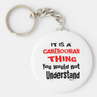 IT IS CAMEROONIAN THING DESIGNS KEY RING