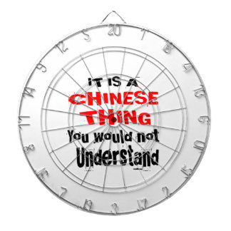 IT IS CHINESE THING DESIGNS DARTBOARD