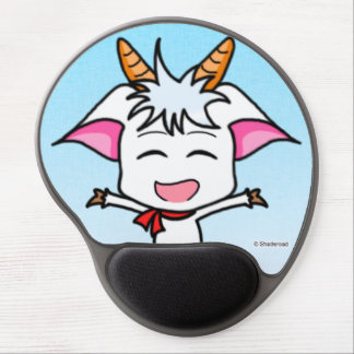 It is dense the goat mouse pad of the ge gel mouse pad