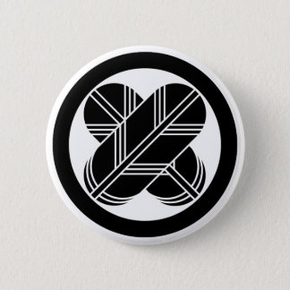 It is different to the circle, the feather of the 6 cm round badge