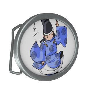 It is difficult a u English story Nikko Toshogu Belt Buckle